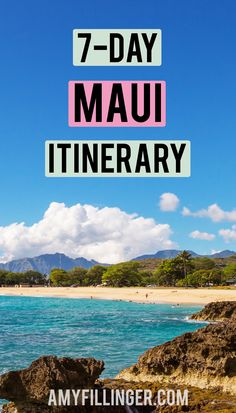 So you're planning a Maui vacation and looking for things to do in Maui. Well, you're in the right place! This 7-day Maui itinerary has plenty of options for you to plan the perfect Maui vacation. From snorkeling to Haleakala sunrise to the Road to Hana to ziplines, this has a little bit of everything AND, best of all, it's easy to change up depending on your preferences. #mauiitinerary #oneweekonmaui #thingstodoinmaui #oneweekmauiitinerary #7daymauiitinerary Hawaii Travel Deals, Hawaii Tours, Hawaii Vacation, Aloha Hawaii, Vacation Ideas, Old Lahaina Luau, Haleakala Sunrise, Maui Resorts, West Maui