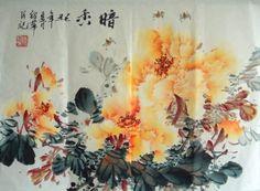 Chinese Painting: Peony - Chinese Painting CNAG234748 - Artisoo.com