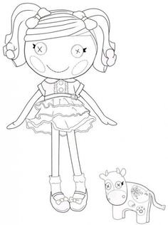 the best lalaloopsy dolls coloring pages - Lalaloopsy Coloring Pages