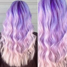 Layerd, Wavy Hairstyles for Thcik Long Hair - Ombre Balayage Hairstyles with Long Hair