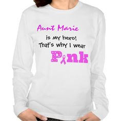 (add name) is my hero, that's why I wear PINK