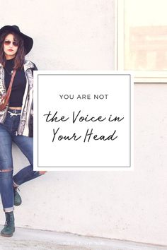 You are not the voice in your head | Thrive.How