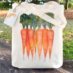 Crunchy #Carrots your perfect Farmer's Market companion! Ceridwen Hazelchild Design