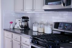 Before and After: A Light Kitchen & Bathroom Renovation