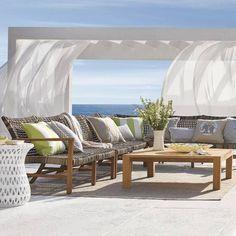 Isola Right-facing Modular Sofa Beach Furniture, Backyard Furniture, Furniture Dolly, Outdoor Furniture Sets, Modular Furniture, Sofa Furniture, Furniture Plans, Furniture Design, Modular Sofa
