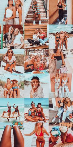 7 One-Click Lightroom Mobile Presets. The main preset highlights turquoise and orange, turning it into a retro film look. Feeds Instagram, Instagram Pose, Instagram Worthy, Summer Instagram Pictures, Summer Photos, Ideas For Instagram Photos, Gimp Photo Editing, Photography Poses, Photography Filters