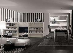 Black-Wall-Stripes-Living-Room-Interior