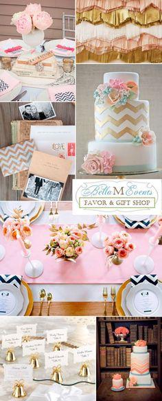 Pink Wedding Color Combination Palette Ideas