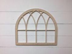 Unfinished Vintage Inspired Original Arch by Featherandbirch