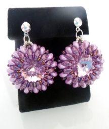 beading earrings, orecchini perline - by machegioia®