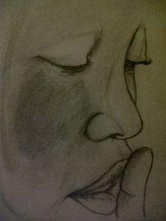 #Pencil drawing #Ssshhhhh!!!