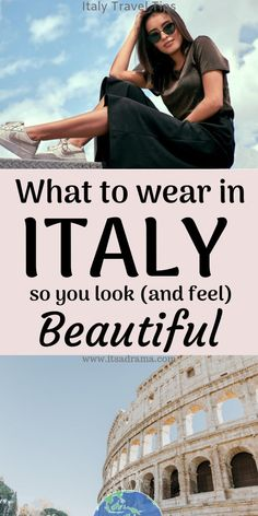 Travel tips. Packing For Italy. Italy travel tips. How to pack for your Italy trip so that you look & feel utterly Italian. What to wear in Italy. 20 stunning outfits that will make your Italy vacation unforgettable. Italy Honeymoon, Italy Vacation, Italy Trip, Italy Travel Tips, Rome Travel, Travel Destinations, Travel Trip, Adventure Travel, European Vacation