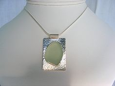 sea glass pendants - Google Search