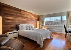 Great Built In Niche That Serves As A Headboard And Good Uplighting From Closet Behind Bed