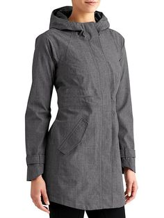 Rainfall Jacket - Fully-waterproof and seam sealed, this is the tailored urban trench style jacket you need if the weather is calling for torrential conditions.