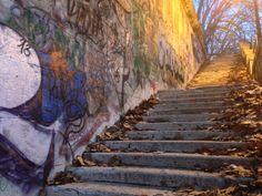 Graffiti along the #TiberRiver #Roma