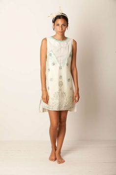 Summer Touch ! is it a mini dress or a maxy t-shirt ? Just what you want ! crazy headband... feeling free #momoé