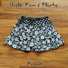 Black & White Floral Made to Order
