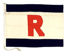 House flag, Gem Line - National Maritime Museum
