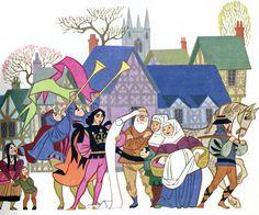Sheilah Beckett, The Twelve Dancing Princesses - Mes petites images | Illustrateurs de livres pour enfants ...