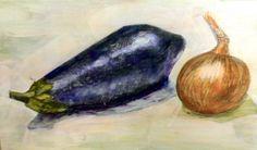 Temple de huevo y óleo. Ejercicio realizado durante el Curso de Técnicas y Materiales de Pintura de la Escuela de Arte Antonio Povedano. Córdoba, 2014.