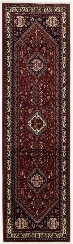 Perserteppich Abadeh rot (85x298cm)