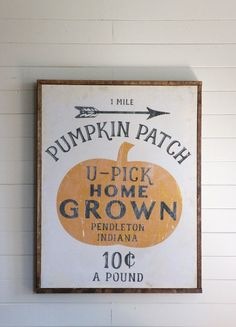 FREE vintage pumpkan patch printable (and it's editable so you can add your own city & state!)