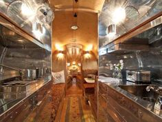 The 2015 Bowlus Road chief is like an Airstream on steroids. The new mirror-polished aluminum trailer has a stunning interior and is now taking reservations.