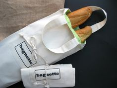 Comfortable bread bag hand printed made from eco cotton fabric. 3 baguettes comes perfect and your hands are still free. When you dont need it just use tie and put it on the bottom of your bag...takes no space. 8 wide /21 cm/, 22 /55 cm/ long