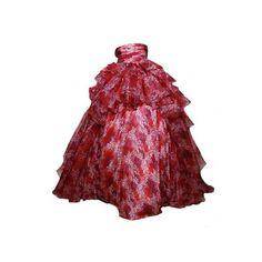 kaycee's kreations (kaycee99) ❤ liked on Polyvore featuring dresses, gowns, doll clothes, long dresses, long red evening dress, red gown, long-sleeve babydoll dresses, doll dress and red evening gowns