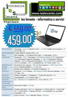 Notebook Hp in offerta. Garanzia Italia.
