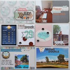 Project Life - Week 29 by @Kaellyn Norby Marrs RODRIGUEZ at @Studio_Calico