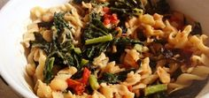 Gluten-Free Recipe: Millet Pasta With Roasted Tomatoes & Kale