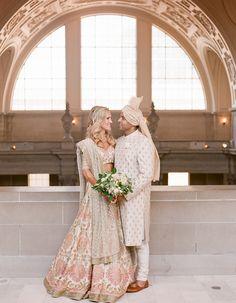 Wedding Planning Inspiration, Wedding Ideas, Indian American Weddings, Pink Grey Wedding, Indian Fusion Wedding, Indian Wedding Photography Poses, India Wedding, Gray Weddings, Wedding Story