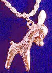 Donkey Charm Pendant Animal Jewelry Mule Rose Gold Plated Over Sterling Silver   eBay