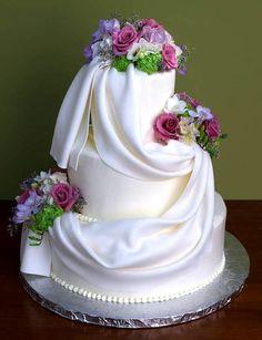 Un gateau de mariage Plus