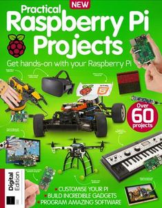 """Cover of """"Technology Bookazine 1844 (Sampler)"""" Robotics Projects, Computer Projects, Arduino Projects, Electronics Projects, Diy Projects, Computer Programming, Arduino Programmer, Pi Computer, Projetos Raspberry Pi"""