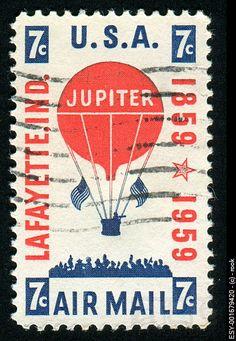 Postage stamp USA