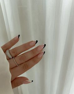 Edgy Nails, Funky Nails, Stylish Nails, Swag Nails, Edgy Nail Art, Simple Acrylic Nails, Best Acrylic Nails, Simple Nails, Acylic Nails
