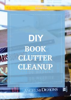 Have tons of books and magazines? See how to clean up and organize the clutter.
