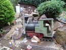 Denkmal auf der Gartenbahn