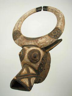 GothamGallery Fine African Art - Burkina Faso Bobo Tribal Mask - Buffalo