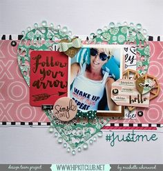 Another gorgeous inspiration today with this awesome LO by designer @harbourgal and our #january2016 kits  @mymindseyeinc @cratepaper @heidiswapp #hipkits #hipkitclub #scrapbook #scrapbooklayout #papercrafting
