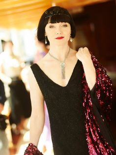 Which Miss Fisher dress is the deadliest? 👗 Watch all of Miss Fisher's Murder Mysteries now on Acorn TV. 20s Fashion, Vintage Fashion, Miss Fisher, Retro Mode, Murder Mysteries, My Guy, Style Icons, Charleston, Vintage Outfits