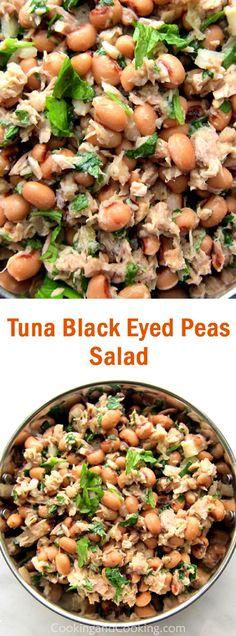 Tuna Black Eyed Peas Salad Recipe