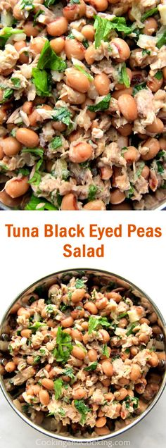 Tuna Black Eyed Peas Salad Recipe