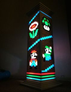 The Aptly Christened 'Lego Lamp' Is A Must For Every Gamer Household - http://www.interiorredesignseminar.com/decorating/the-aptly-christened-lego-lamp-is-a-must-for-every-gamer-household/