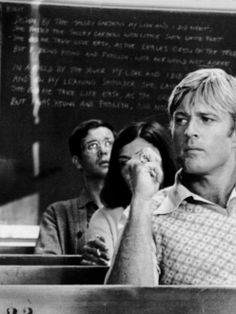 Robert Redford // 'The Way We Were' (1973)  ~ 'In a way he was like the country he lived in. Everything came too easily to him… but at least he knew it.'  (Image source ~ http://bonjour-paige.tumblr.com)