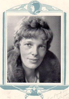 1920s Aviatrix Amelia Earhart High School Yearbook~Chicago~Pilot~Kinner Airster | eBay Leadership Vision, High School Yearbook, Somewhere In Time, Amelia Earhart, 1920s, Pilot, Chicago, Survival, Events