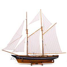 Wielki model jachtu